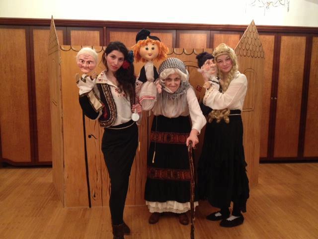 Teatru papusi marionete pentru copii