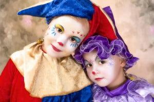 costume copii clowni