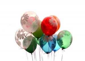 Baloane heliu petreceri copii