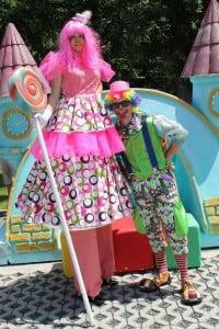 clownita picioroange copii