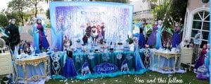petrecere tematica disney frozen