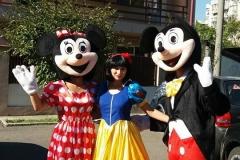 Mascote Mickey si Minnie Mouse