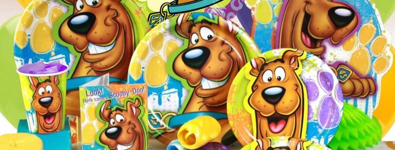 Pachet tematic Scooby Doo la petreceri copii