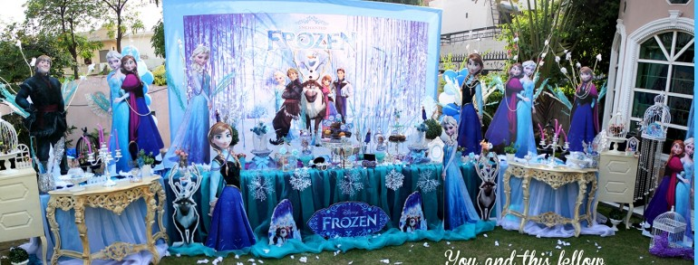 Pachet tematic Elsa Frozen