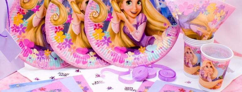 Pachet tematic Rapunzel la petreceri copii