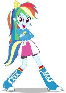 fetita-rainbow-dash