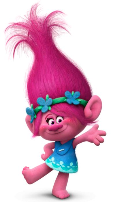 Poppy din filmul Trolii