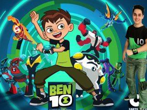 animator copii ben10